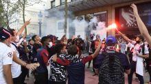 Foot - Justice - Violences après la défaite du PSG:151 personnes en garde à vue à Paris