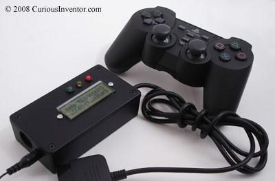 Midiator lets you use a PS2 controller as a MIDI controller