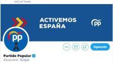 Echenique denuncia que el PP miente hasta en la descripción que figura en su perfil de Twitter