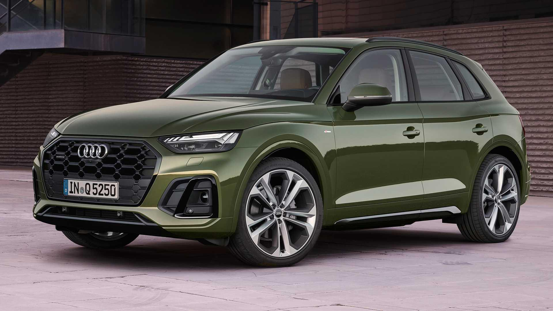 Updated 2021 Audi Q5 debuts with fresh new look, lower price