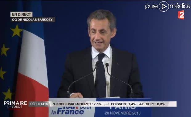 Primaire A Droite Quand Nicolas Sarkozy Remercie Les Journalistes