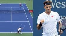 Roger Federer fools opponent with act of 'pure genius'