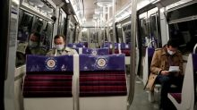 Don't talk on the subway, say French doctors, to limit COVID-19 spread