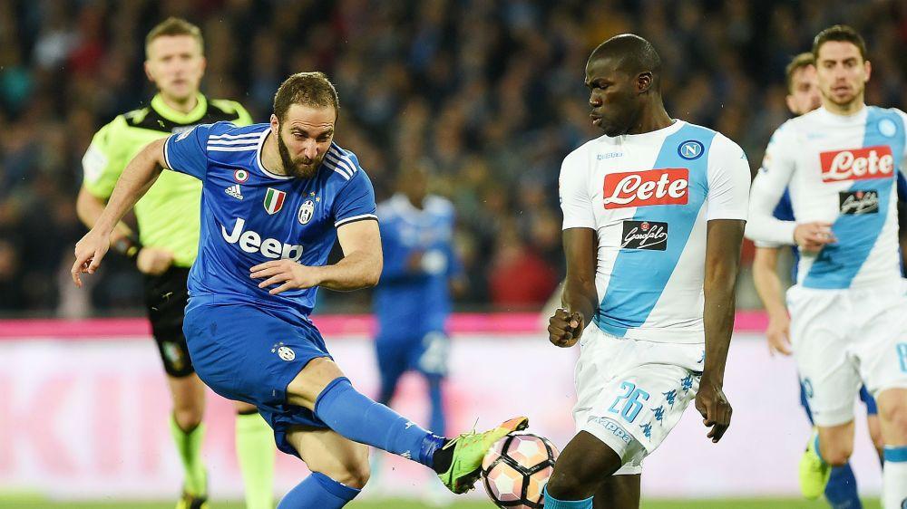 Juventus empató con Napoli y Roma se ilusiona con dar pelea