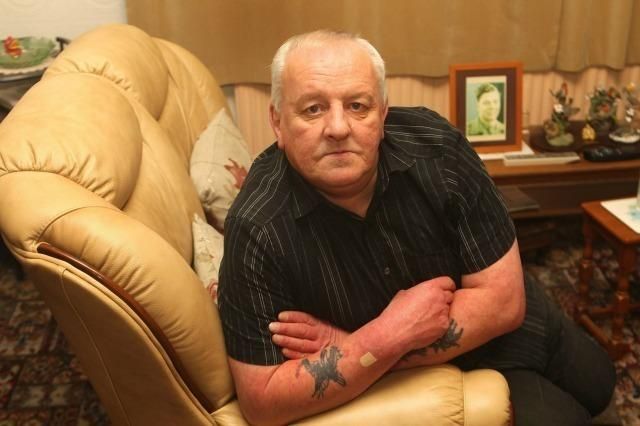 """Stephen Cox won more than £100,000 on the National Lottery in 2003 but has been left with nothing after falling victim to two conmen. The 63-year-old was pressured into handing over £60,000 to the men who told him his roof needed fixing. They walked him into banks and building societies persuading him to part with £80,000 of cash while doing no work in return. See the full story <a href=""""http://money.aol.co.uk/2015/12/02/lottery-winner-left-with-nothing-after-being-conned-by-roofer/"""">here</a>."""