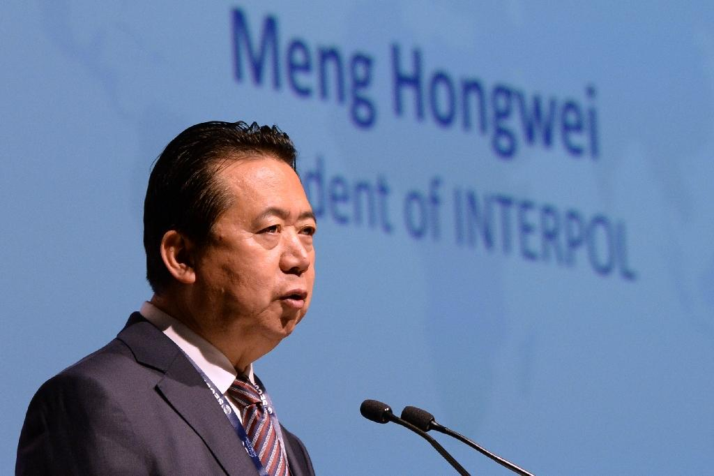 When still president of Interpol, Meng Hongwei vanished last September during a visit to China and was later accused of accepting bribes and expelled from the Communist Party