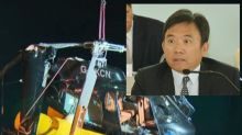 Charles Chan involved in a helicopter crash in Norway