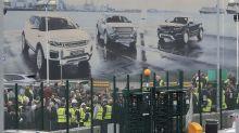 The Latest: Jaguar Land Rover confirms 4,500 job losses