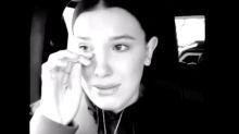 Millie Bobby Brown breaks down in tears detailing intrusive fan encounter