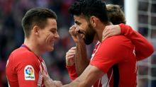 Gameiro, Costa on target as Atletico keep up Barcelona chase