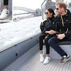 Casual Sunday! Meghan Markle Makes a Royal Appearance in Sneakers for Her First Time Ever