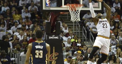Basket - NBA - Playoffs - Cleveland débute les playoffs par une victoire dans la douleur contre Indiana