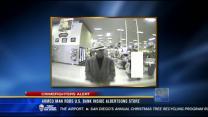 Armed man robs U.S. Bank inside Albertson's store