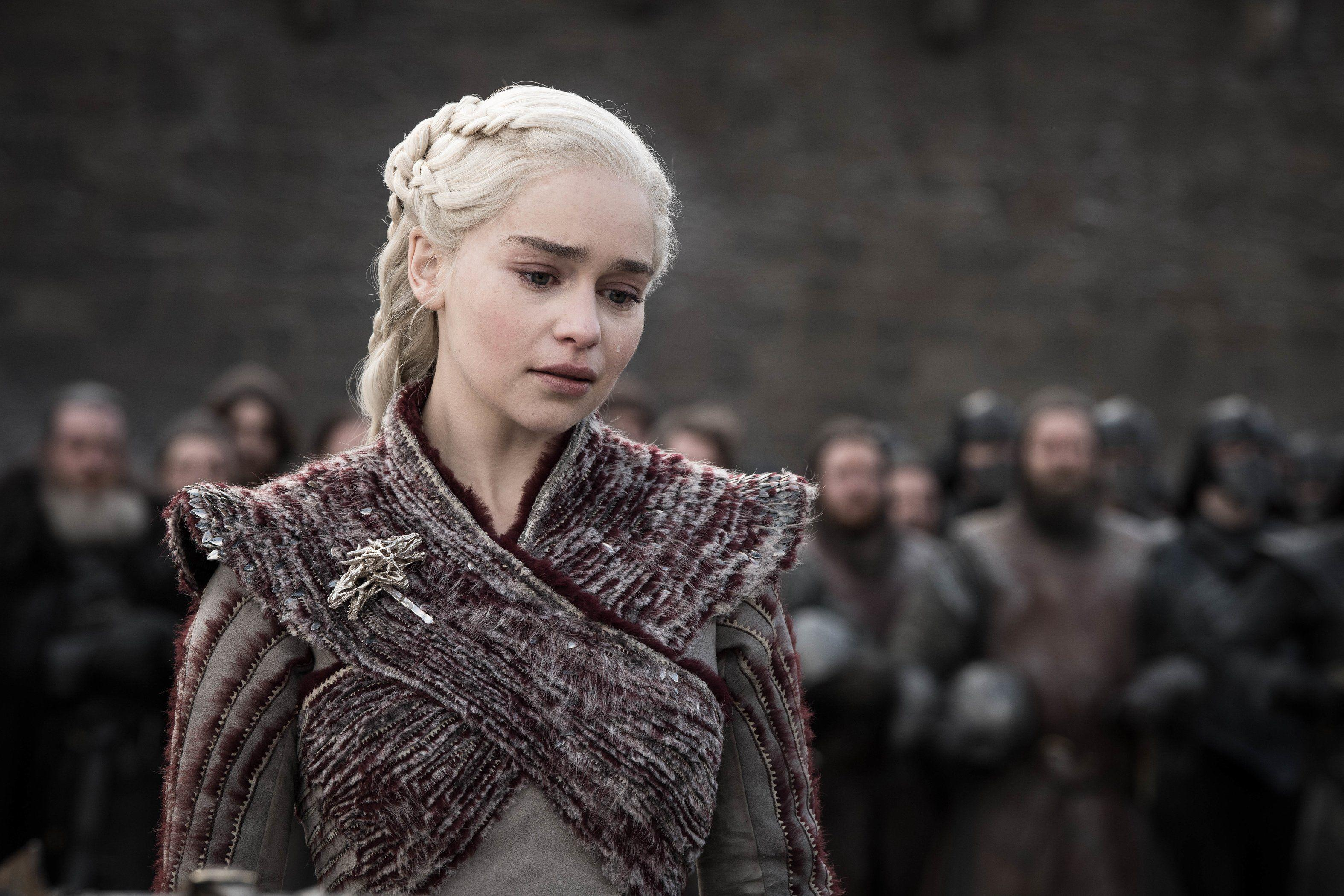 Emilia Clarke was heartbroken by the response to the 'Game Of Thrones' finale