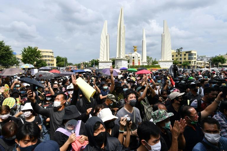 Thai protestors demand 'new moral compact' with monarchy