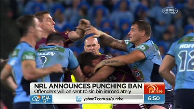 Gallen fumes at fighting rules
