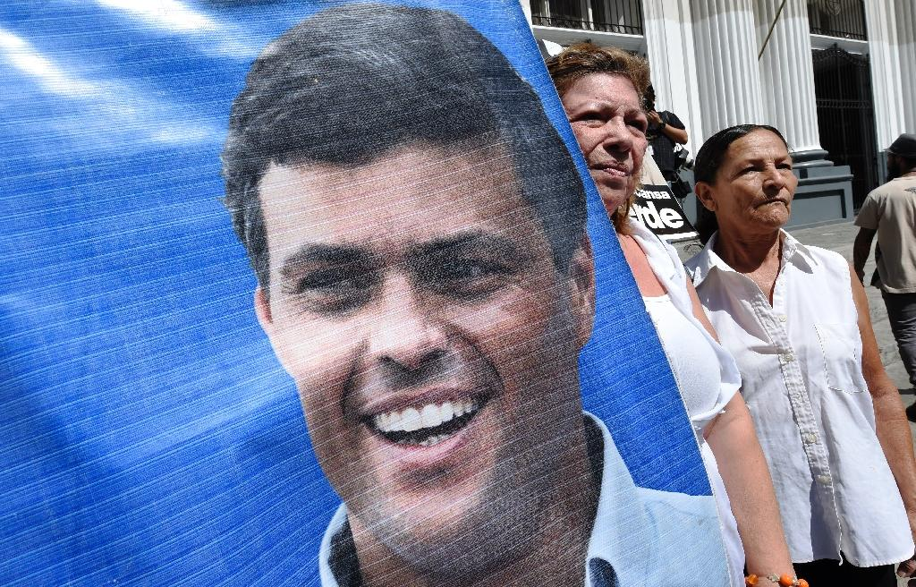Leopoldo Lopez is accused of instigating violence in anti-government protests that left 43 people dead in 2014