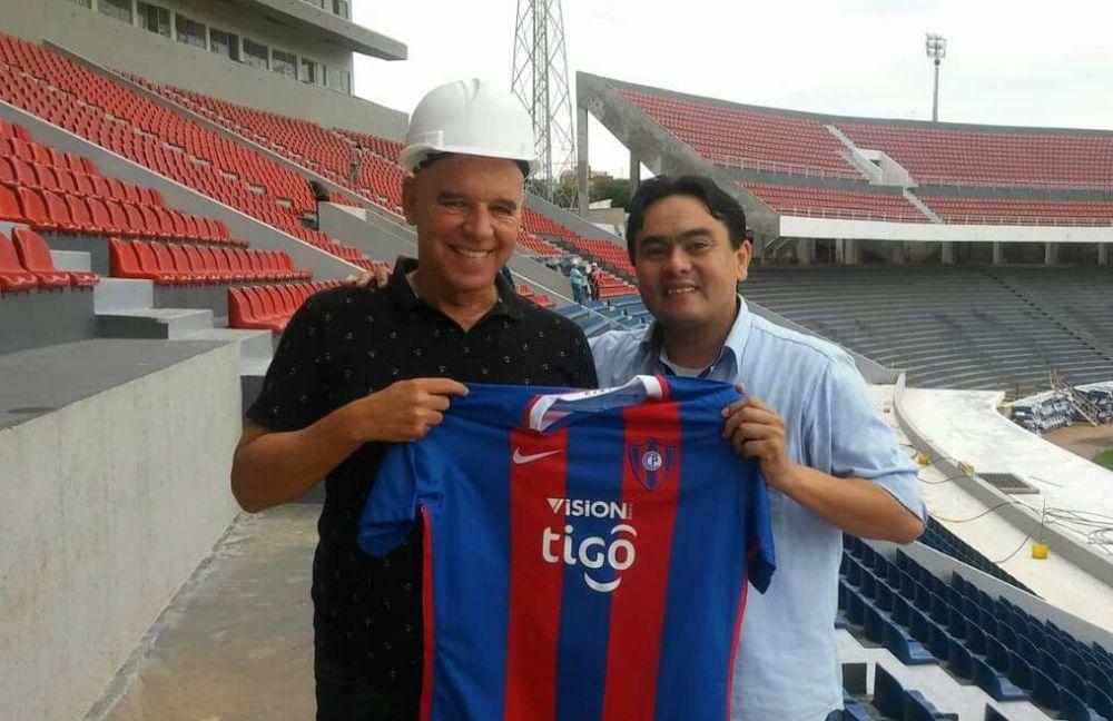 Valdir Espinosa volvió a Barrio Obrero