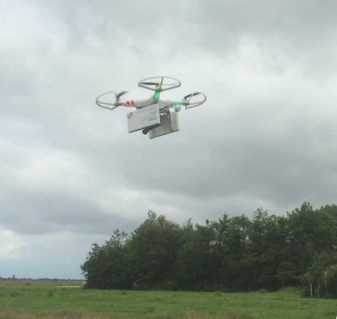 Der Abtreibungscopter fliegt nach Polen (Video)