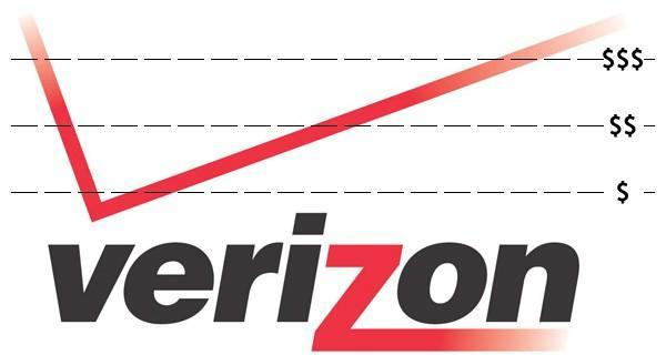 Verizon's tiered data plans go live, including $30 for a smartphone buffet or $15 for 150MB