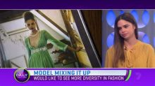 Samantha Harris hopes to see more diversity in the fashion world