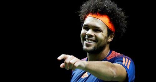 Tennis - WTF - Yannick Noah vend la mèche et donne le prénom du bébé de Tsonga