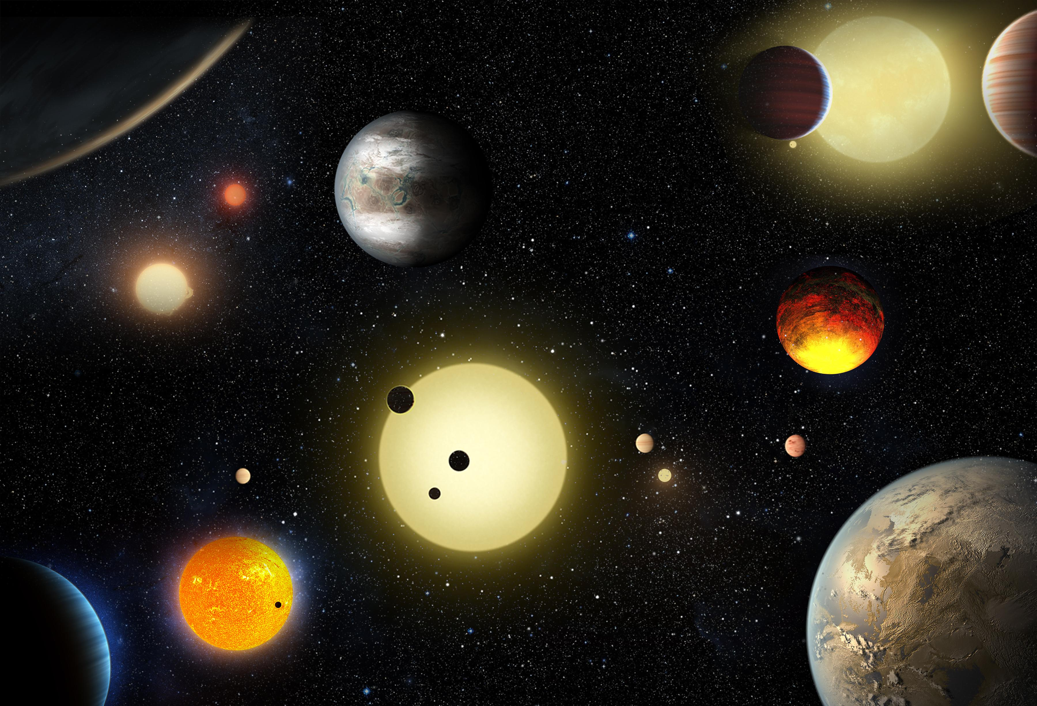 other planets in other galaxies - HD3600×2449