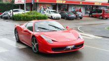 Rentó un Ferrari de 650 mil dólares y lo destrozó a los pocos minutos