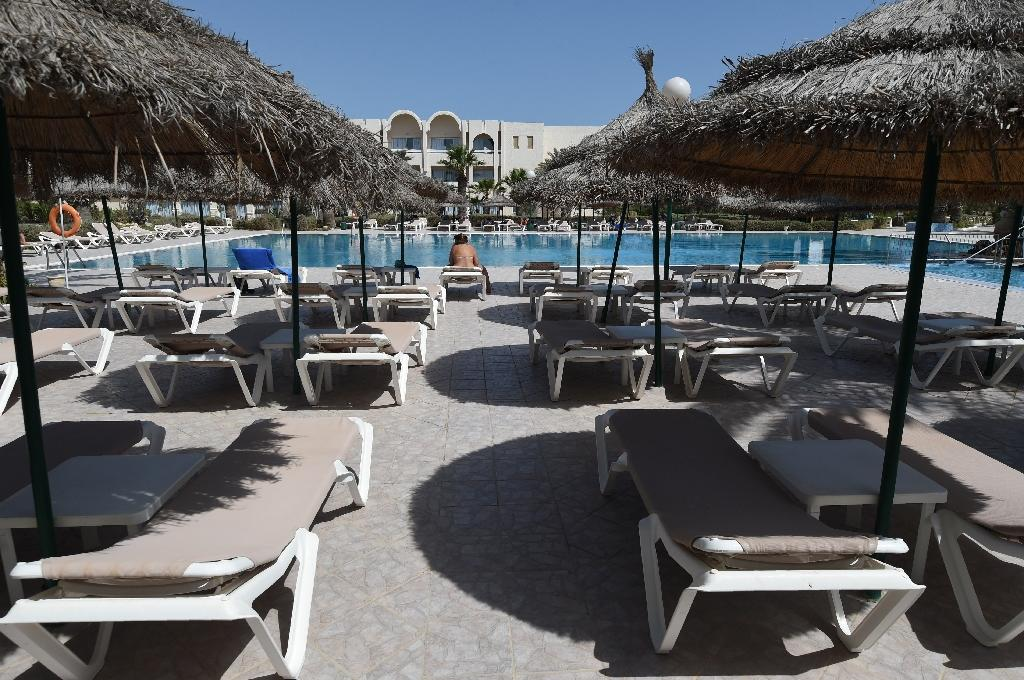 Dozens of hotels were forced to close following the Bardo attack and another in June 2015 at a beach hotel in Sousse which left 38 tourists dead. Many hotels remain shut (AFP Photo/Fethi Belaid)