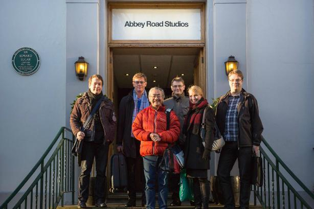 Final Fantasy composer records symphonic album at Abbey Road