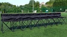 This 9-Person Folding Bench Was Made for Fall Sporting Events