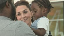 Duchess of Cambridge visits Evelina Children's Hospital