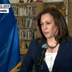 Sen. Kamala Harris says 'I believe them' about Biden accusers