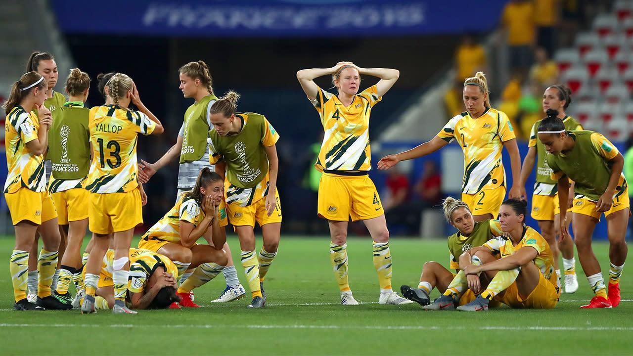 Matildas stunned after penalty shootout horror show