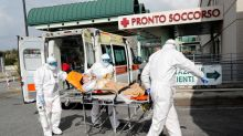 Italy coronavirus deaths rise by 812, number of new cases falls sharply