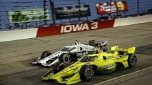 """Pagenaud credits """"never give up"""" attitude for Iowa victory"""