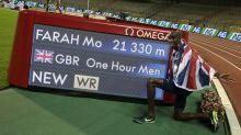 Sir Mo Farah breaks one hour run world record at Diamond League in Brussels