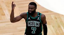 The outlook after Jaylen Brown's wrist surgery is 'very positive' according to Brad Stevens