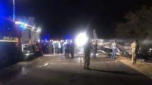烏克蘭軍機墜毀 目擊者:人員火海跳機