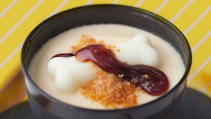 Get the best of both worlds with this Tonkotsu Pudding