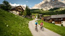 Win a luxury cycling holiday in the Dolomites for eight people worth £24,000