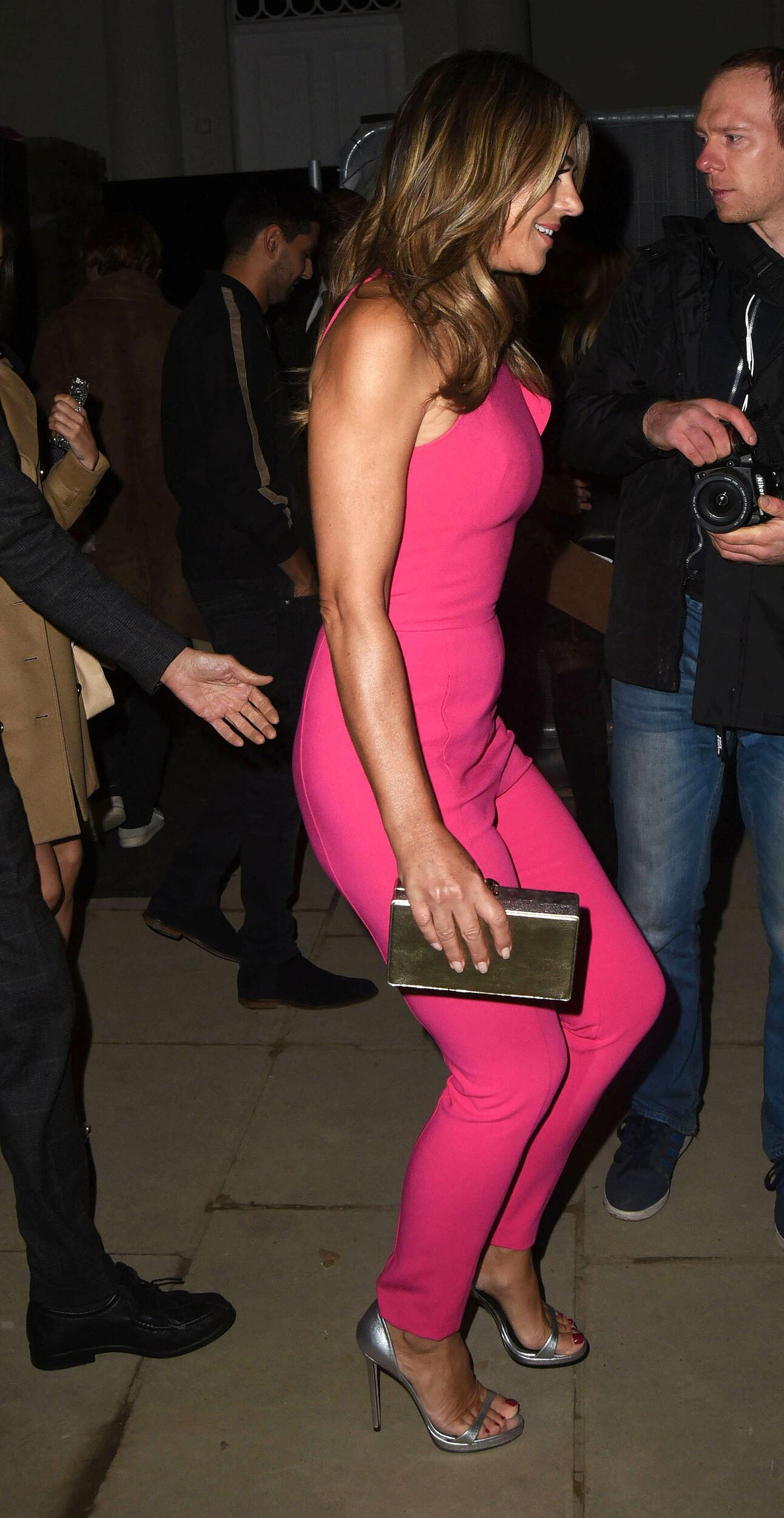 Photo by: KGC-325/STAR MAX/IPx 2017 11/8/17 Elizabeth Hurley and Holiday House London launch party in London, England.