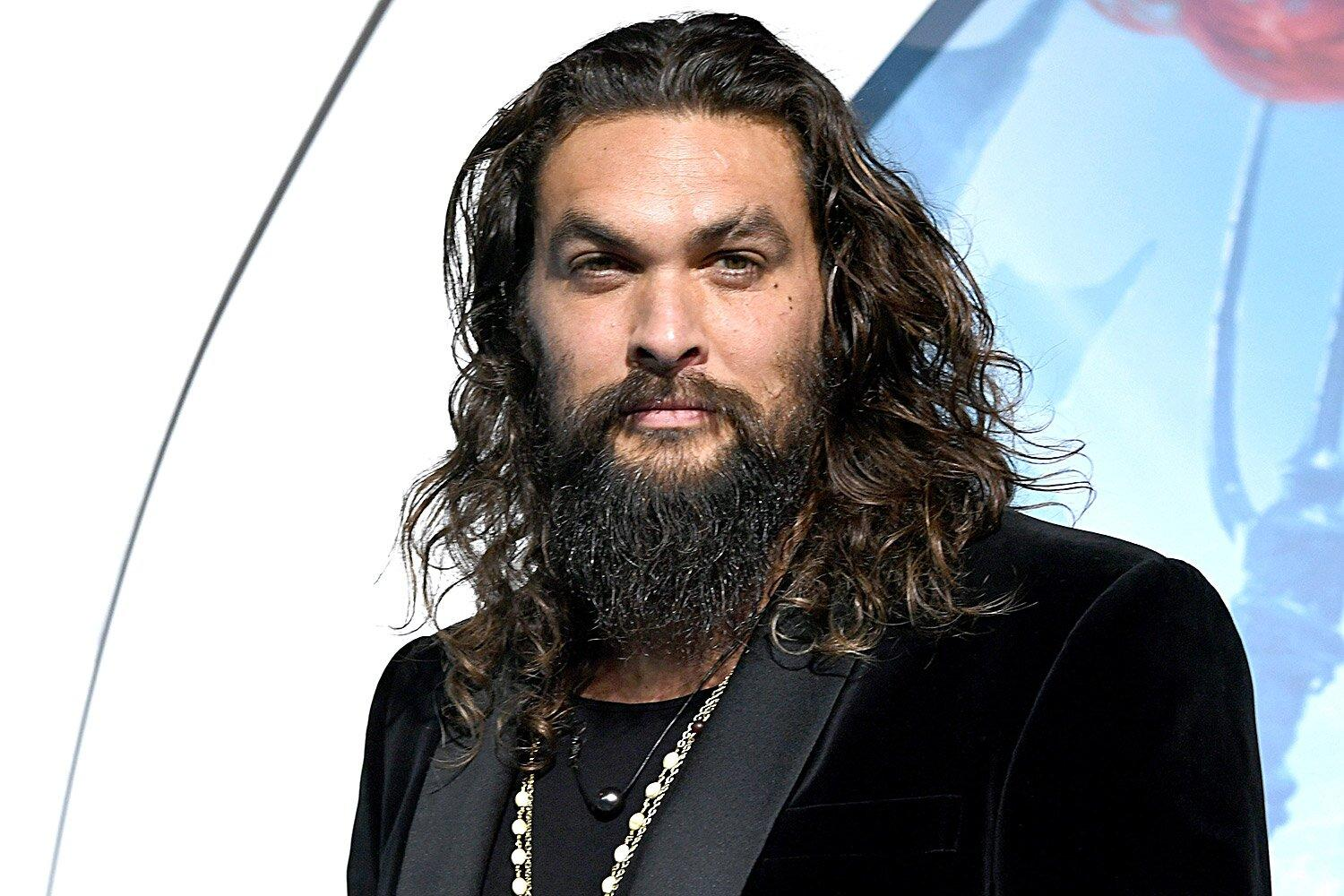 Jason Momoa Surprises Amazing Young Fan Struggling With Cancer With An Aquaman Trident
