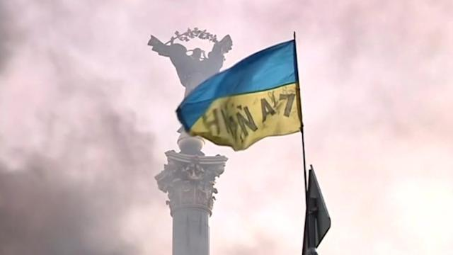 Ukrainian government calls protest 'coup attempt' as sanctions debate emerges