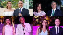 FOTOS | Así llegaron los candidatos a la 'alfombra roja' del 3er. Debate