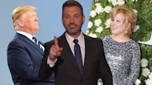Jimmy Kimmel shares conspiracy theory behind Trump's hatred for Bette Midler