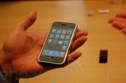 Hands-on with the O2 iPhone