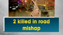 2 killed in road mishap