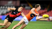 GWS beat Bombers, jump into AFL top eight
