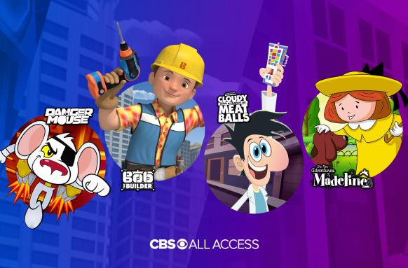 CBS All Access welcomes new kids' shows ahead of Nickelodeon deal